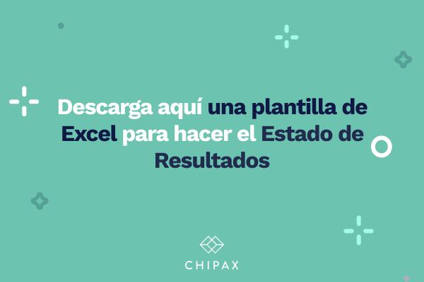 Plantilla Excel Estado de resultados
