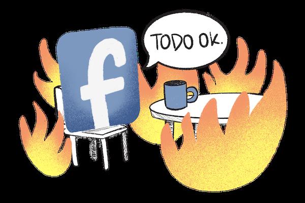 caida facebook